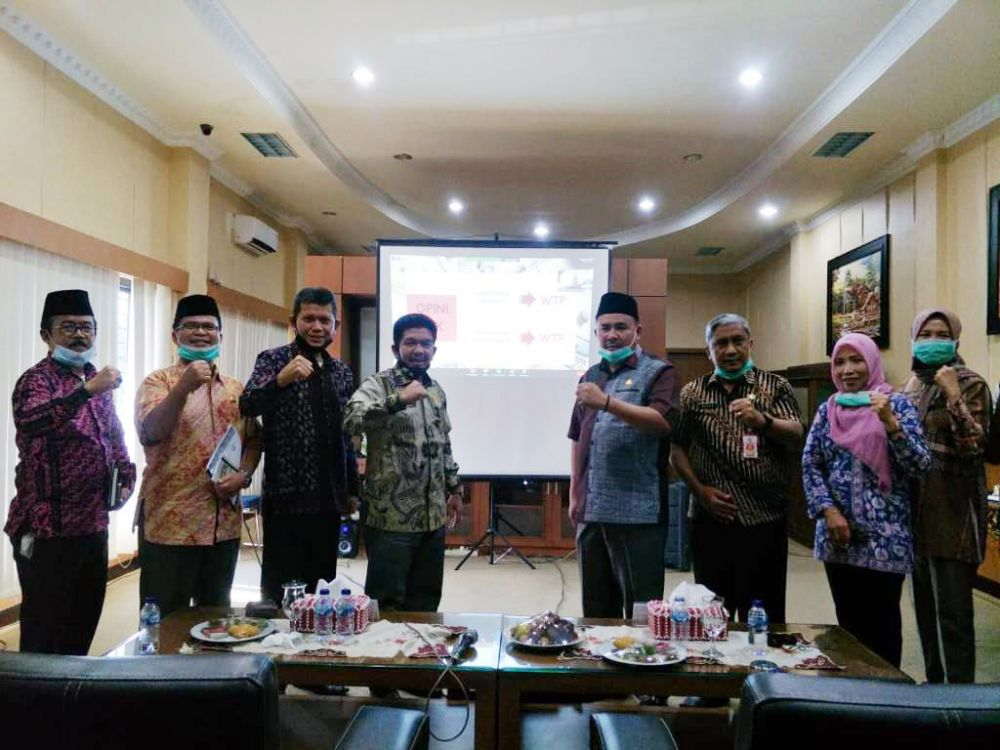 Empat Kali Berturut-turut, Kabupaten Sarolangun Kembali Raih Opini WTP