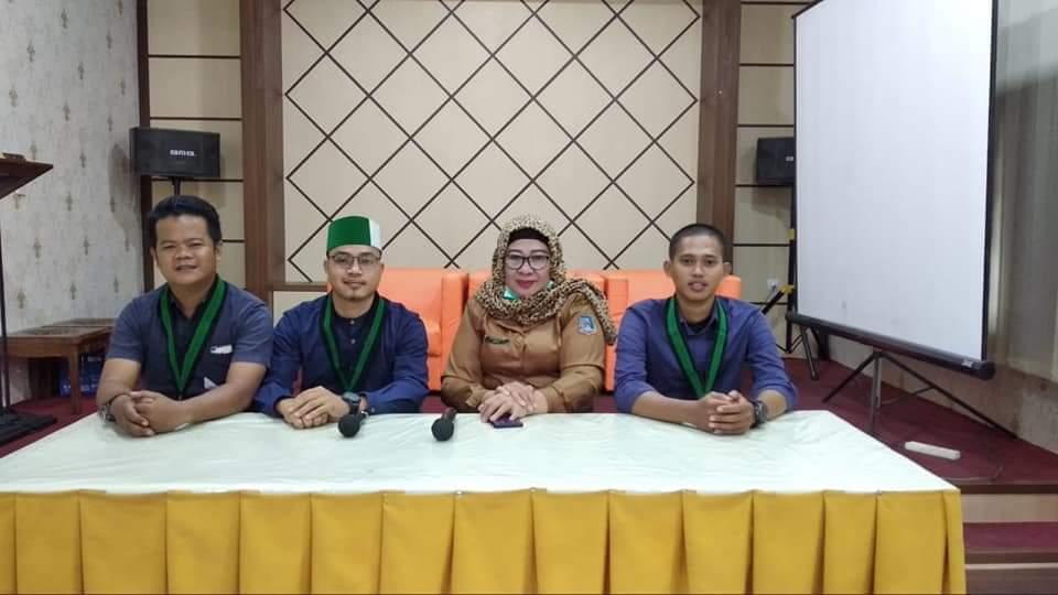 HMI Cabang Tanjab Barat Audiensi dengan Pihak RSUD Dauh Arif Kuala Tungkal Bahas Penangaan Covid 19