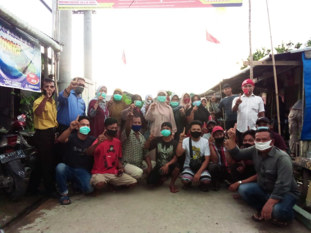 Cici Halimah Pimpin Relawan MULIA Sisir Tungkal Harapan Garap Dukungan Massa