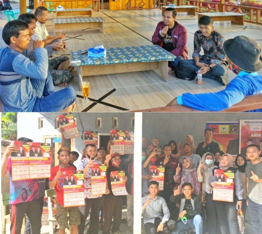 Mantapkan Suara Kaum Milenial Tanjabbar, Milenial Mulia Sisir Wilayah Ulu