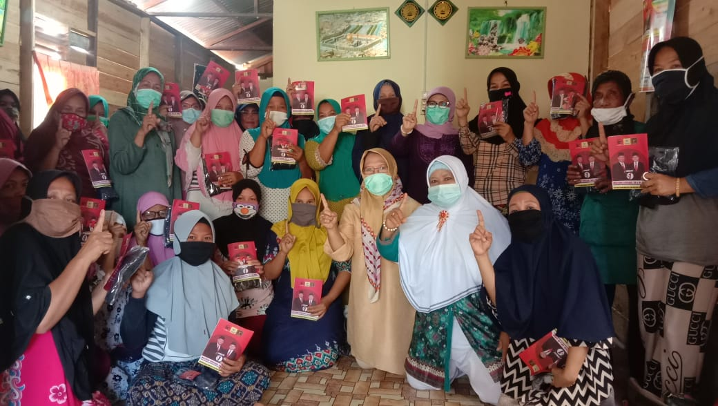 Genjot Pergerakan Bersama Relawan MULIA, Cici Halimah: Jangan Menjelekkan Pasangan Lain
