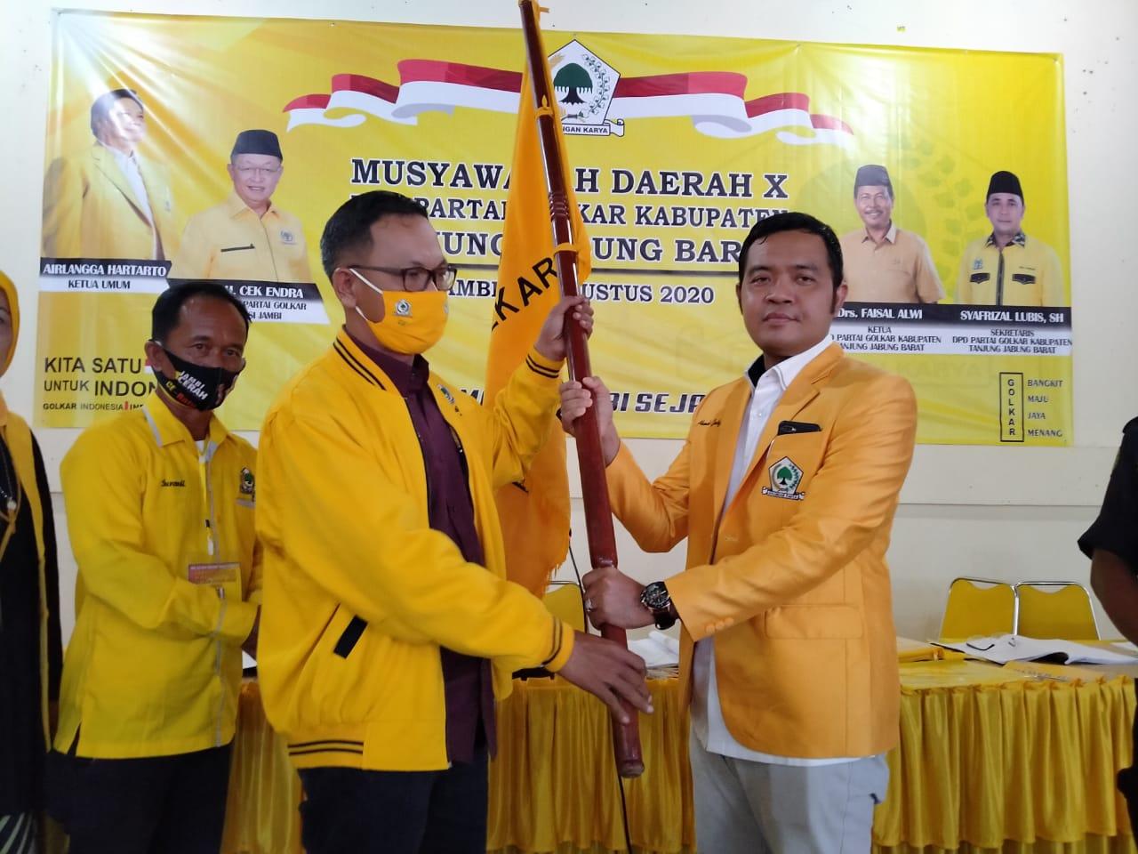 Pimpin DPD Golkar Tanjabbar, Ahmad Jahfar Siap Usung Kepala Daerah dari Partai Golkar