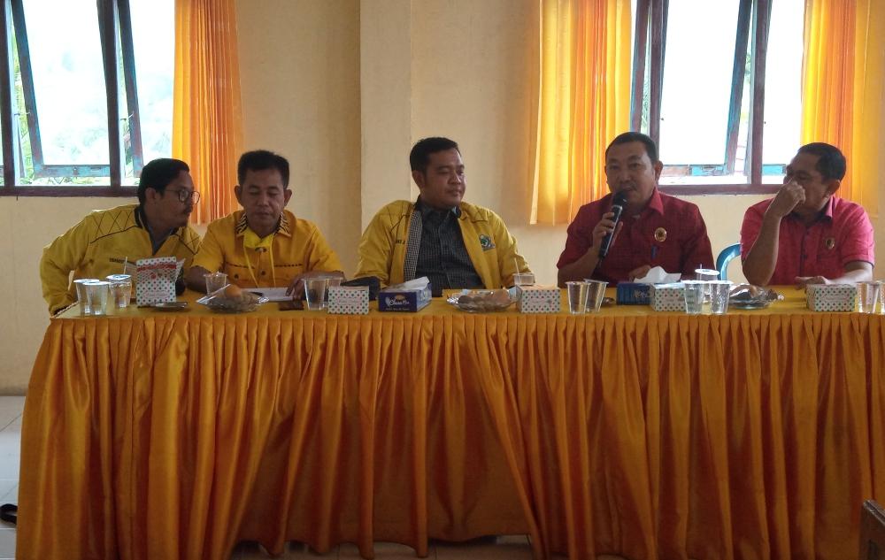 Golkar Tanjabbar Gelar Rapat Koordinasi Koalisi PDI Perjuangan