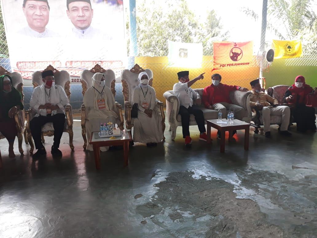 Deklarasi Pasangan MULYA, Amin Abdullhan: Koalisi PDIP-Golkar Akan Berlindung Dibawah Kakbah