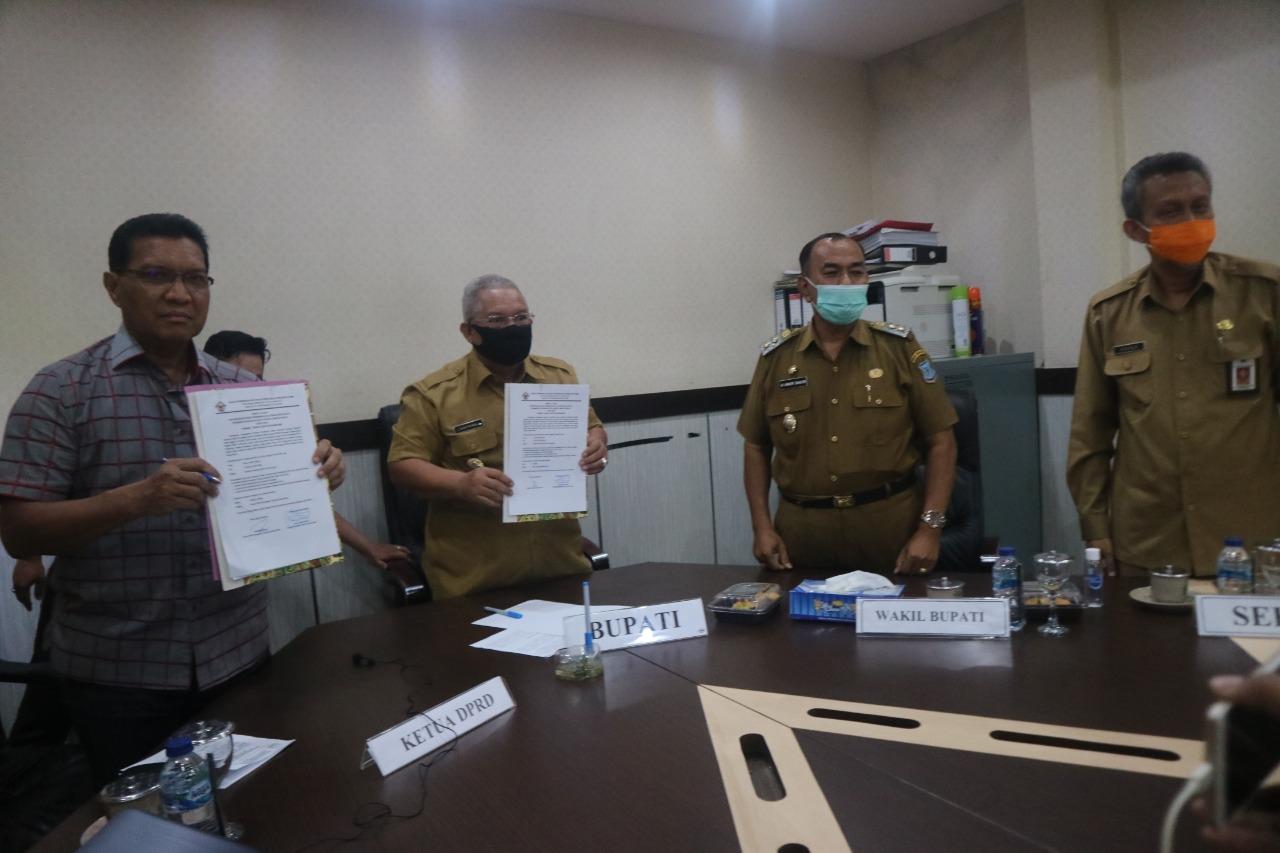 Tanjabbar Kembali Raih Opini WTP dari BPK RI Perwakilan Jambi