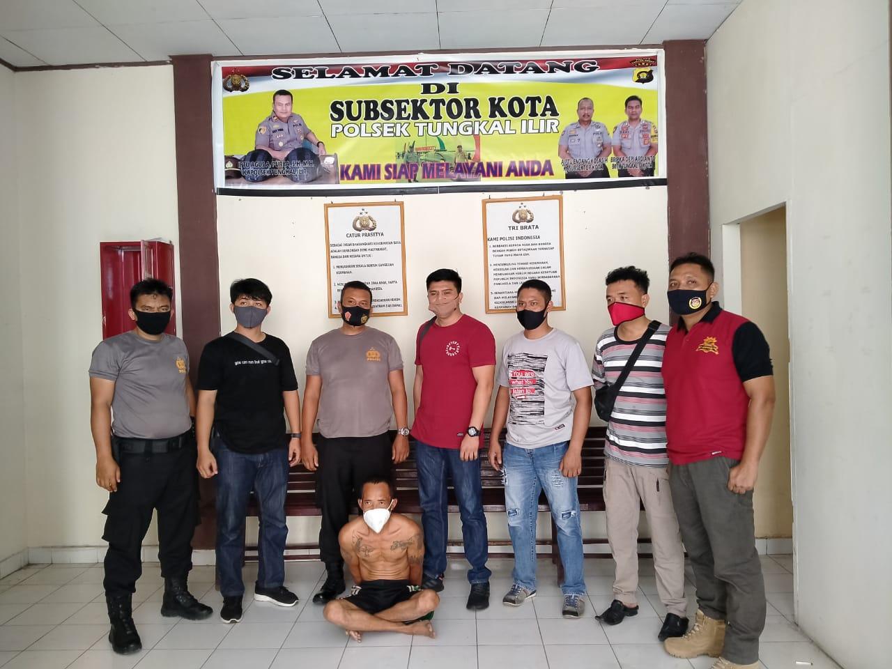 DPO Pelaku Curanmor dari Inhu Diciduk Polisi di Kualatungkal